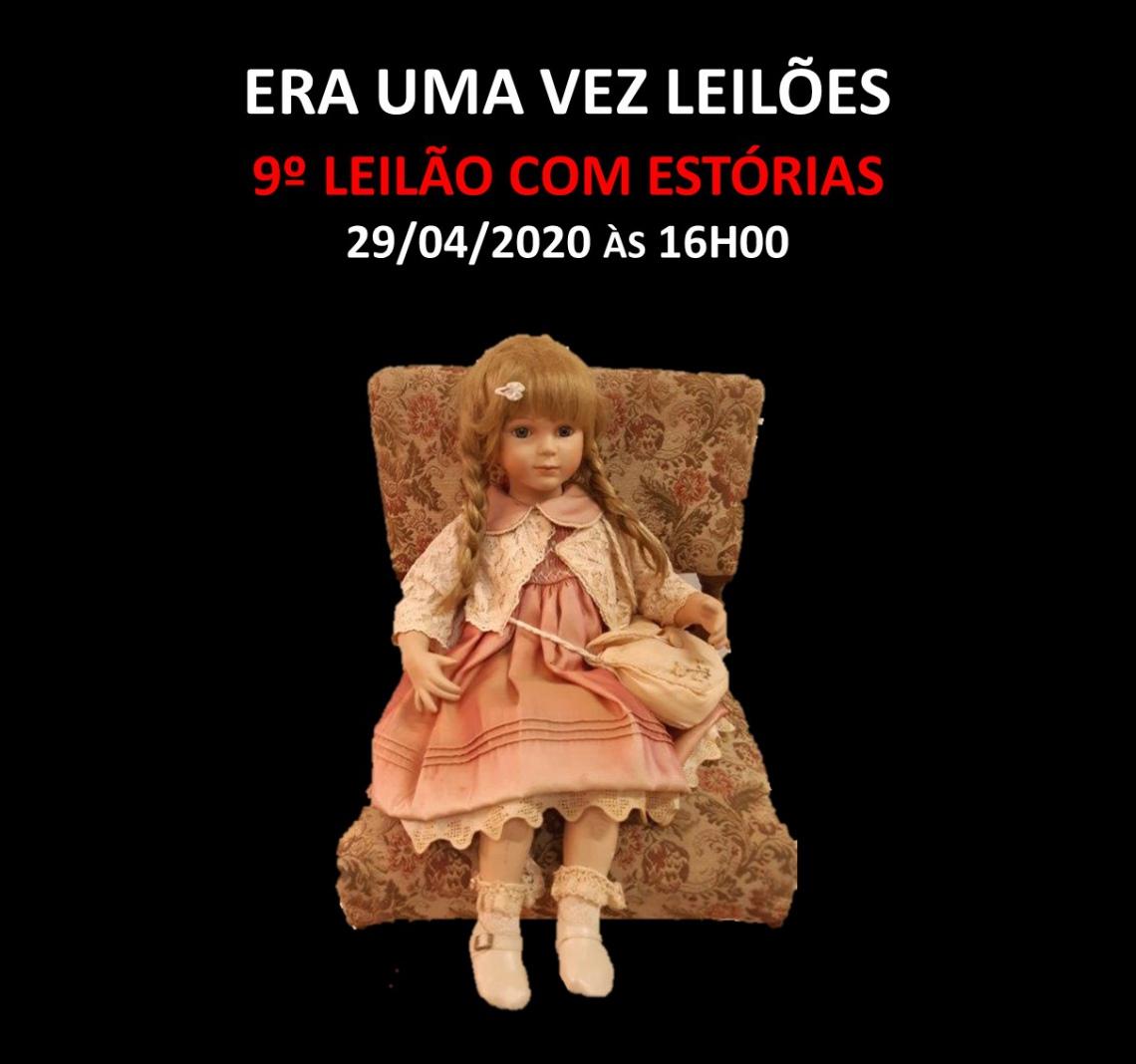 9º LEILÃO COM ESTÓRIAS - 29/04/2020 às 16h00