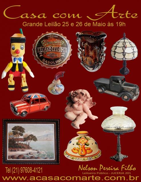 LEILÃO CASA COM ARTE - MAIO 2020