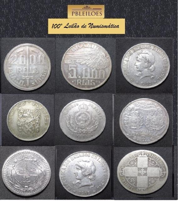 100º Leilão de Numismática Pbleilões