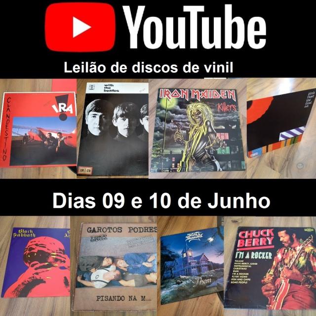 IV GRANDE LEILÃO DE DISCOS DE VINIL