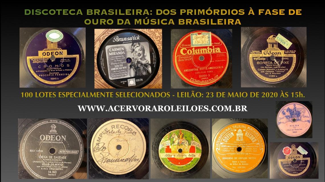 DISCOTECA BRASILEIRA: DOS PRIMÓRDIOS À FASE DE OURO DA MÚSICA BRASILEIRA.