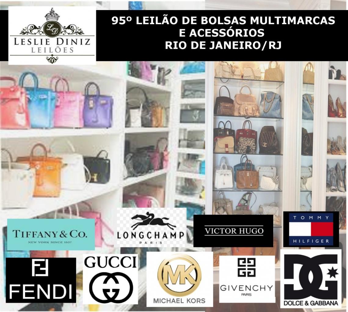 95º LEILÃO DE BOLSAS MULTIMARCAS E ACESSÓRIOS - RIO DE JANEIRO/RJ