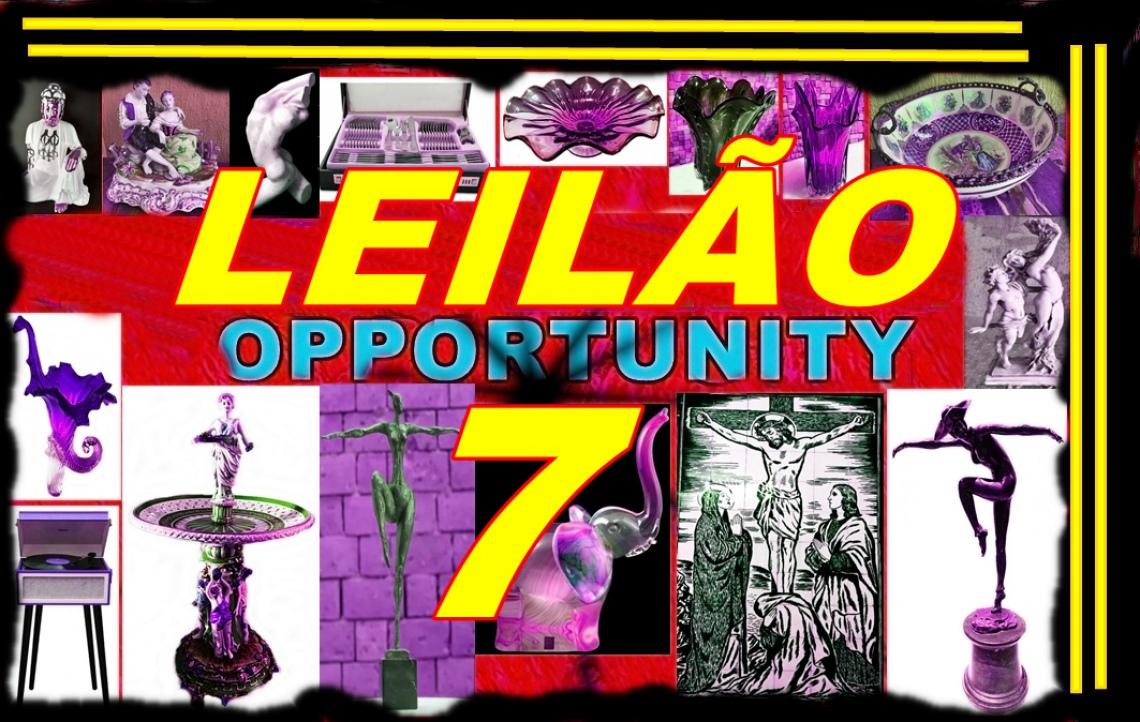LEILÃO OPPORTUNITY  7