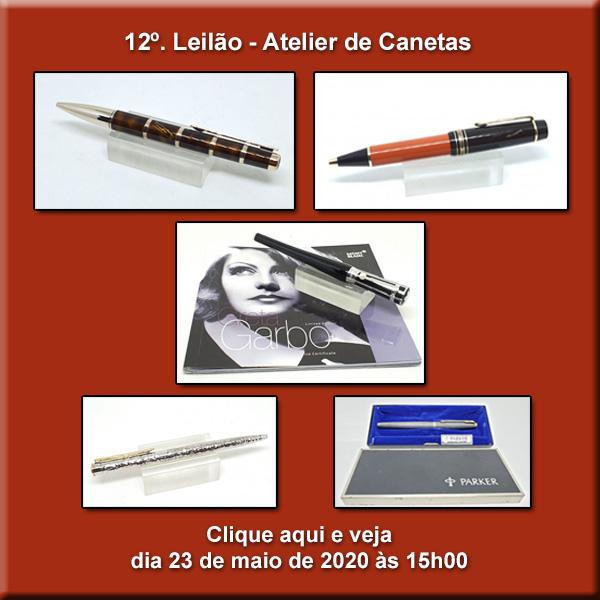 12º. Leilão Atelier de Canetas - 23/05/2020 - 15h00
