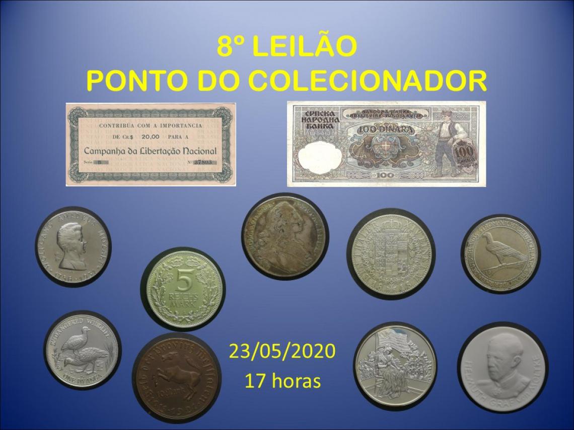 8º LEILÃO PONTO DO COLECIONADOR