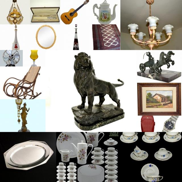 80º LEILÃO DE PREÇOS BAIXOS NA VOVÓ TEM - Artes, Colecionismo, Decoração, Presentes  e Móveis