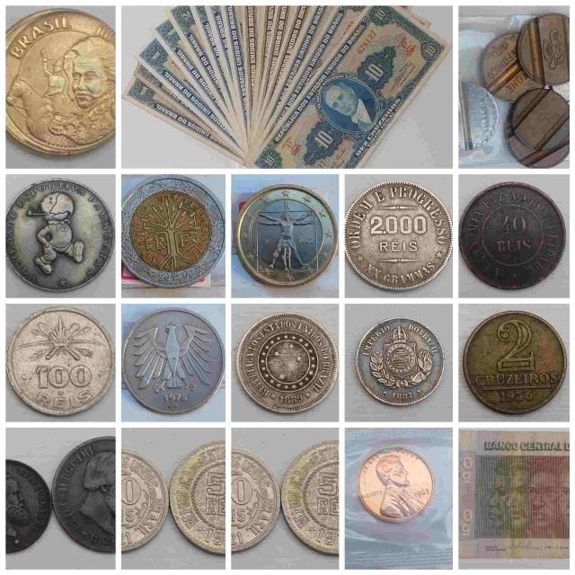 22º LEILÃO NUMISMART  - Moedas Cédulas Medalhas e Colecionáveis