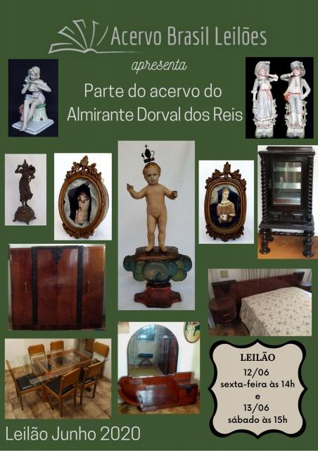 LEILÃO ACERVO BRASIL - JUNHO/2020