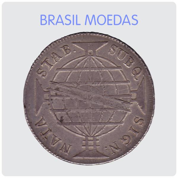 BRASIL MOEDAS e Seleção Especial de Moedas Estrangeiras
