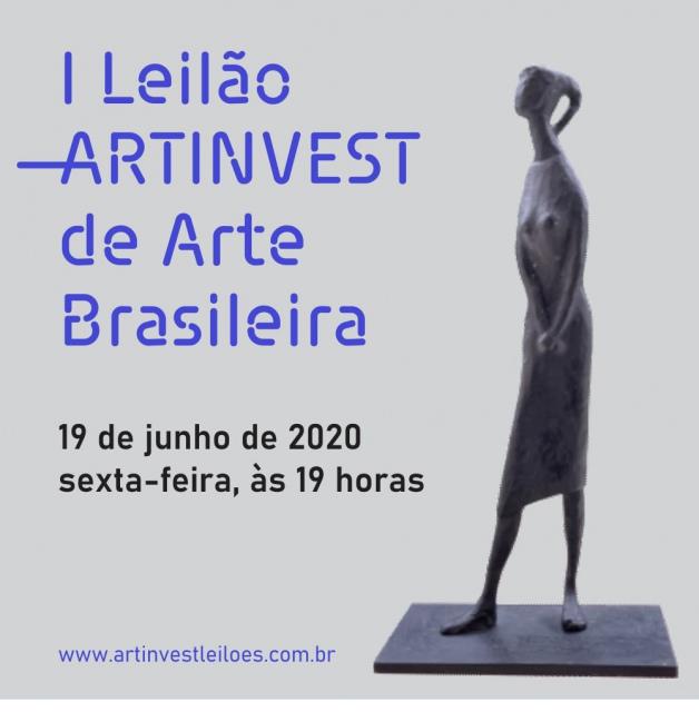 I LEILÃO ARTINVEST DE ARTE BRASILEIRA