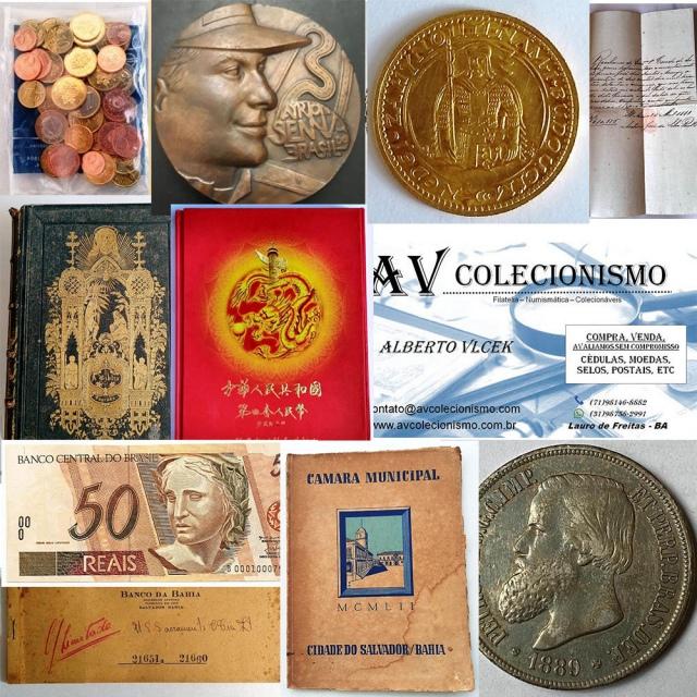 29º Leilão - AVCO - Filatelia  - Numismática - Colecionáveis