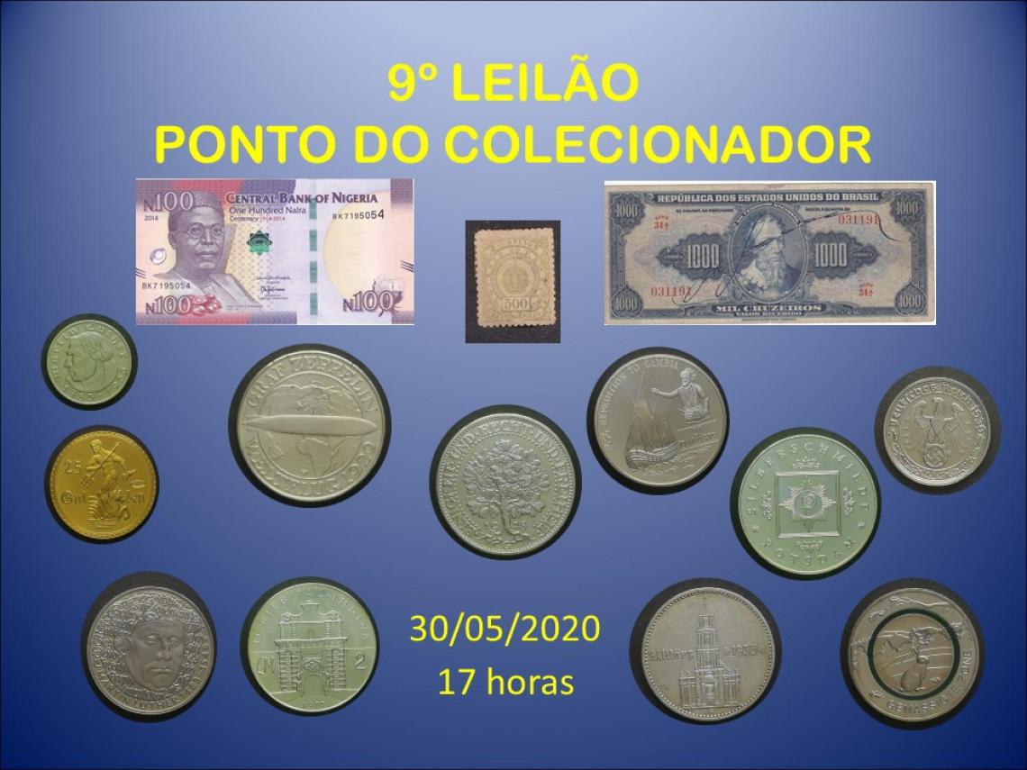 9º LEILÃO PONTO DO COLECIONADOR