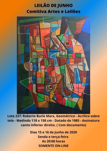 LEILÃO DE JUNHO- Comitiva Artes