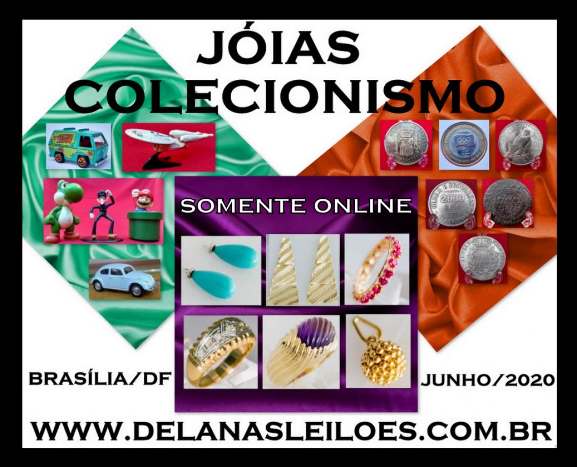 LEILÃO JOIAS & COLECIONISMO
