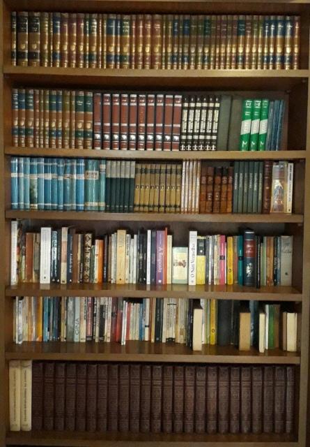 BIBLIOTECA PARTICULAR FAMÍLIA GARCIA (Antiguidades em Livros, Discos de Vinil e Revistas).
