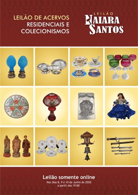 Leilão de Acervos Residenciais e Colecionismo