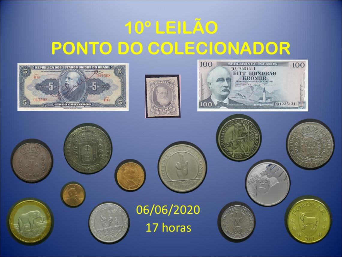 10º LEILÃO PONTO DO COLECIONADOR