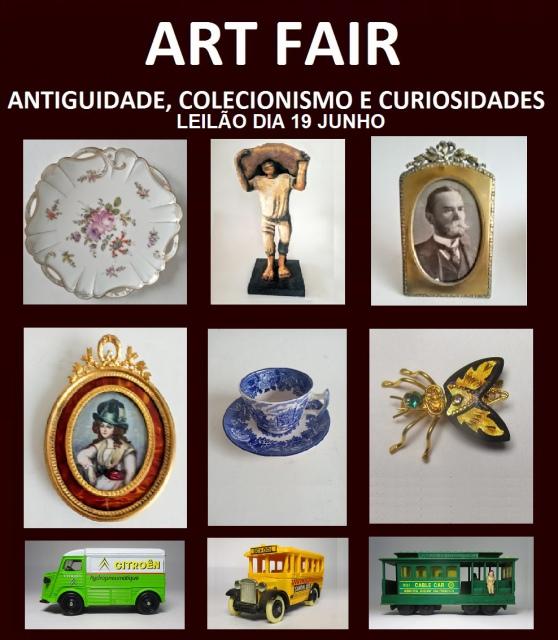 LEILÃO DE ANTIGUIDADES, COLECIONISMO E CURIOSIDADES