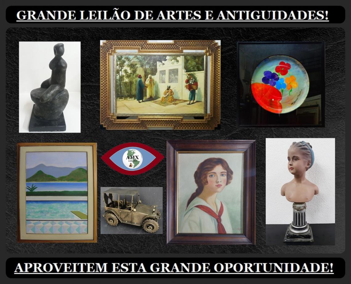GRANDE LEILÃO DE ARTE E ANTIGUIDADES
