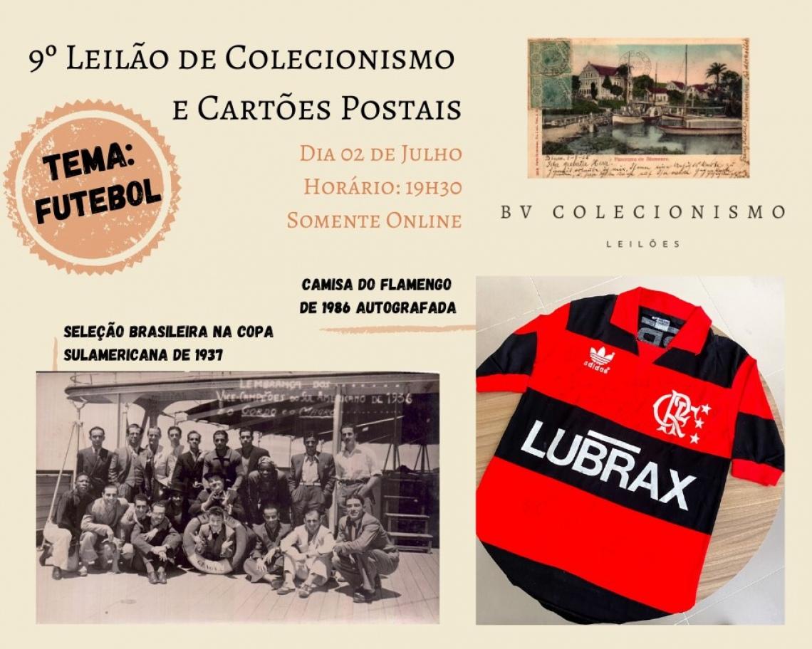 9º LEILÃO DE COLECIONISMO E CARTÕES POSTAIS