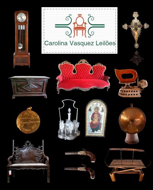 Leilão Isso Que É Bão-Importantes Móveis, Arte Sacra, Colecionismo e Antiguidades.