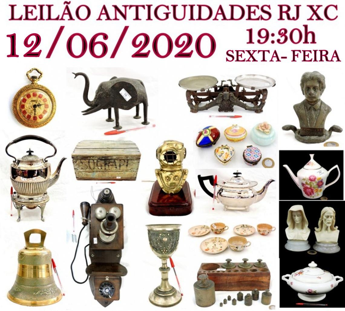 LEILÃO ANTIGUIDADES RJ XC
