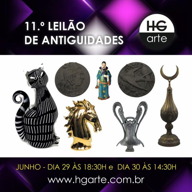 HG ARTE - 11.º LEILÃO DE ARTE E ANTIGUIDADES