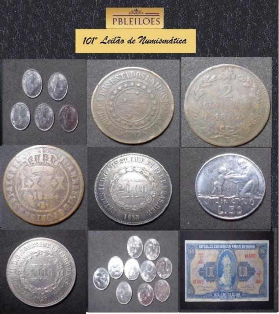 101º Leilão de Numismática Pbleilões