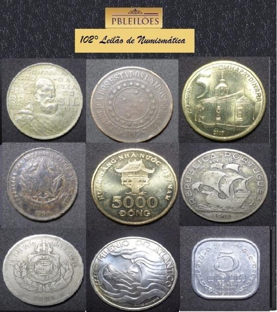 102º Leilão de Numismática Pbleilões