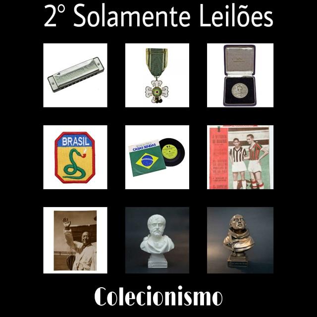 SOLAMENTE LEILÕES - 2º LEILÃO DE COLECIONISMO