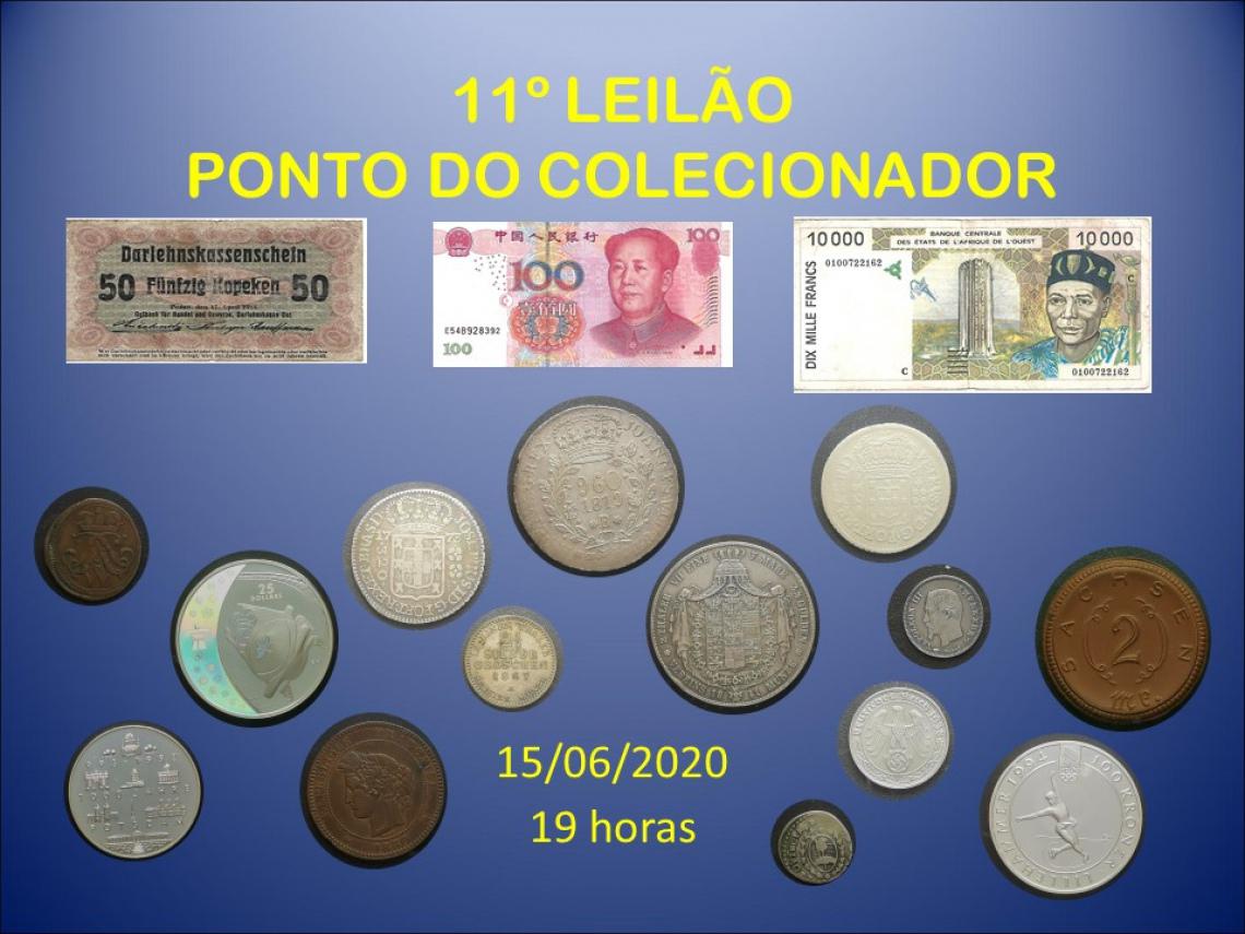 11º LEILÃO PONTO DO COLECIONADOR