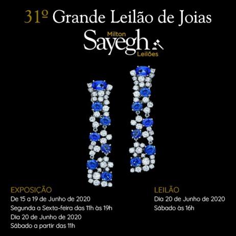 31º GRANDE LEILÃO DE JOIAS