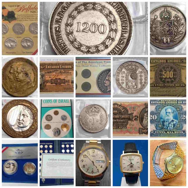 23º Leilão Numismart - Moedas, Cédulas,Medalhas e Relógios