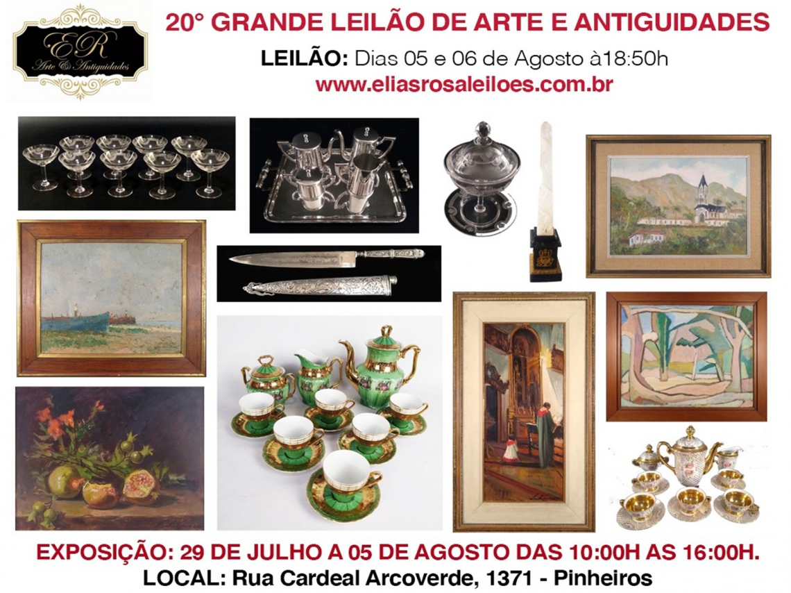 20º GRANDE LEILÃO DE ARTE E ANTIGUIDADES
