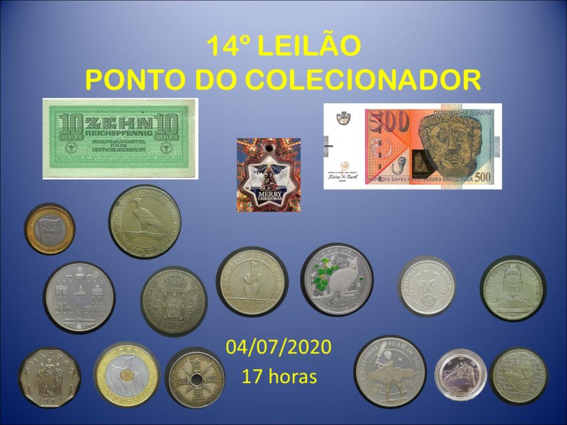 14º LEILÃO PONTO DO COLECIONADOR