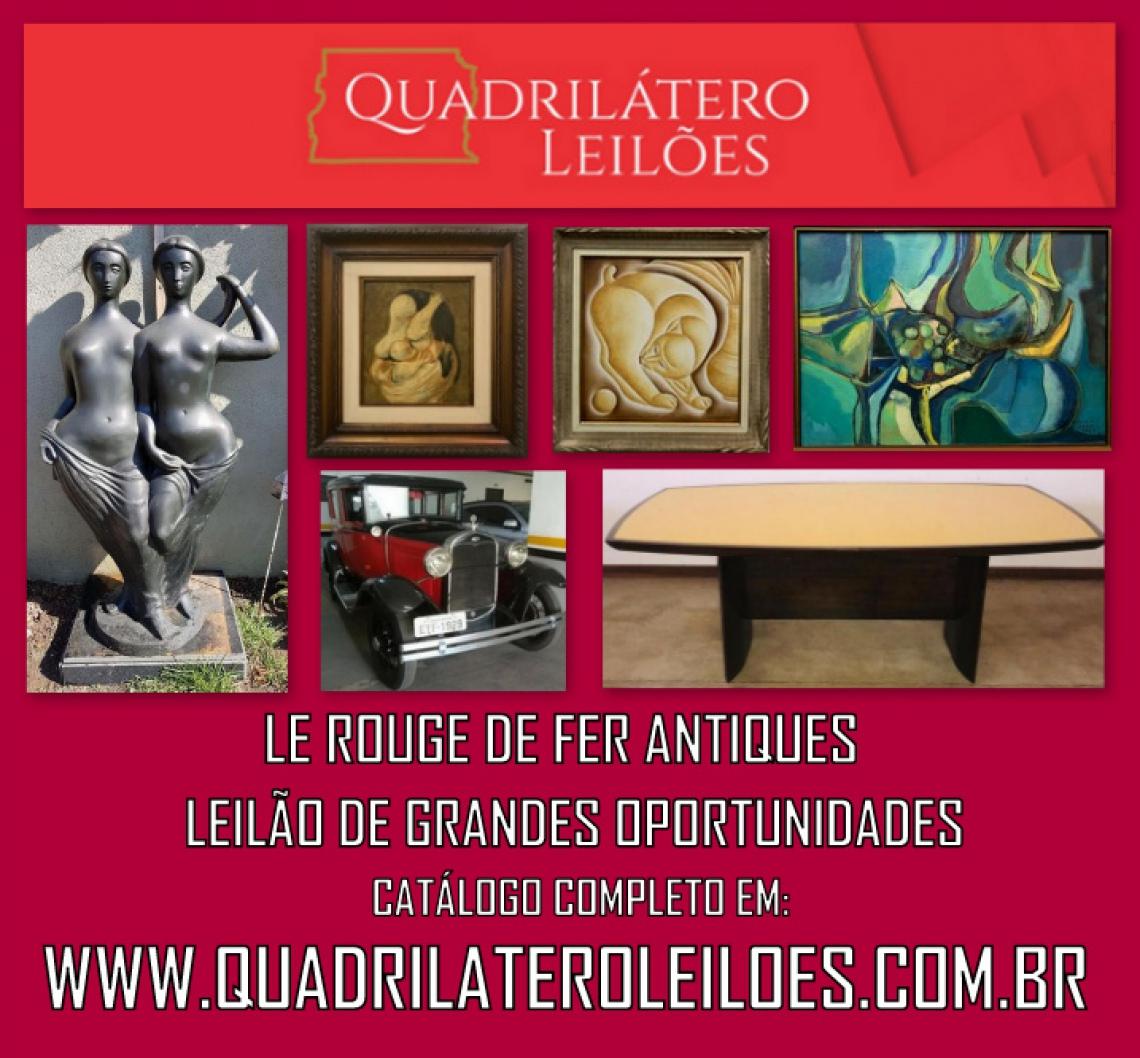 LE ROUGE DE FER ANTIQUES - LEILÃO DE GRANDES OPORTUNIDADES