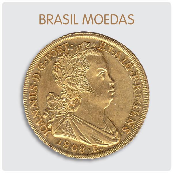Brasil Moedas Leilões