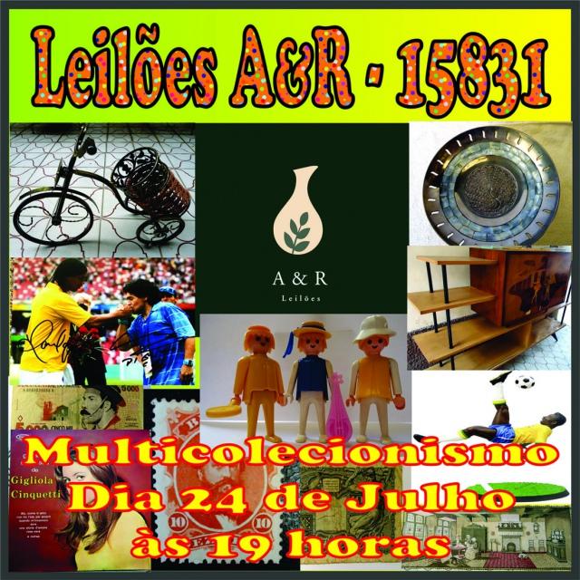 LEILÃO DE COLECIONISMO EM GERAL - PARA TODOS  COM + DE 400 LOTES DIVERSOS