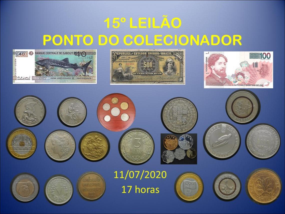 15º LEILÃO PONTO DO COLECIONADOR