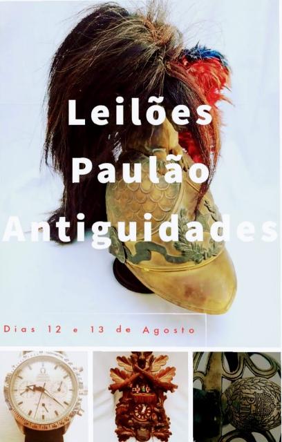 LEILÃO DE ARTE E ANTIGUIDADES - AGOSTO 2020