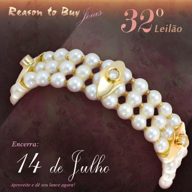 32º Leilão de Joias da Reason to Buy Joalheria