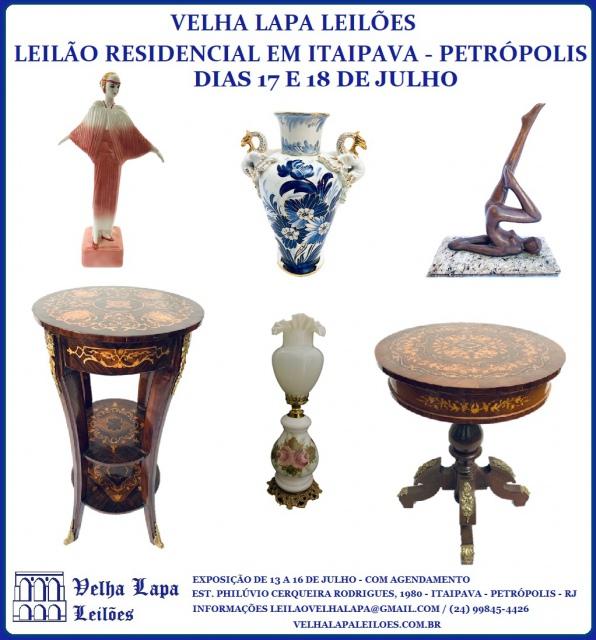 LEILÃO RESIDENCIAL EM ITAIPAVA - PETRÓPOLIS - JULHO DE 2020