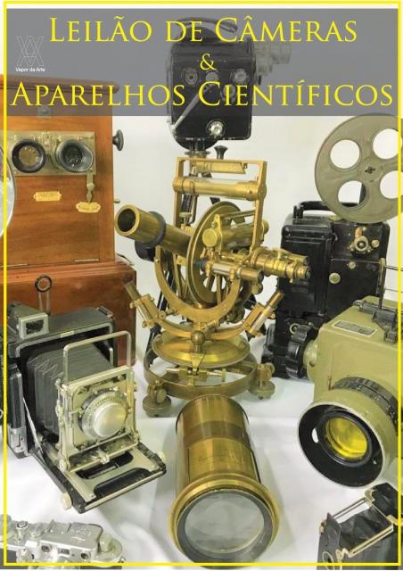 Leilão de Câmeras e Aparelhos Científicos - de 27 a 29/07/ 2020 às 16h00