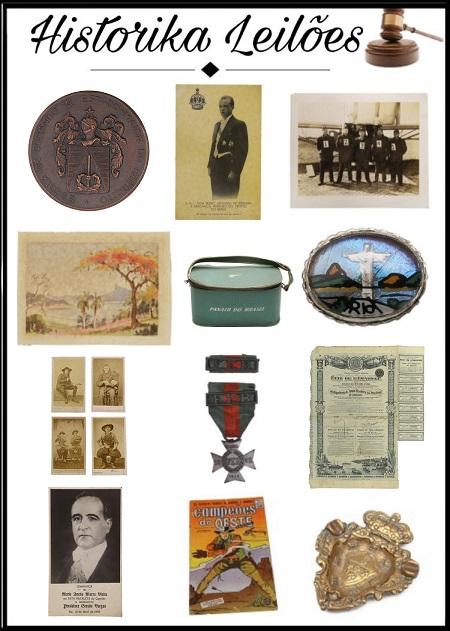 1º Leilão de Colecionáveis - Historika Leilões