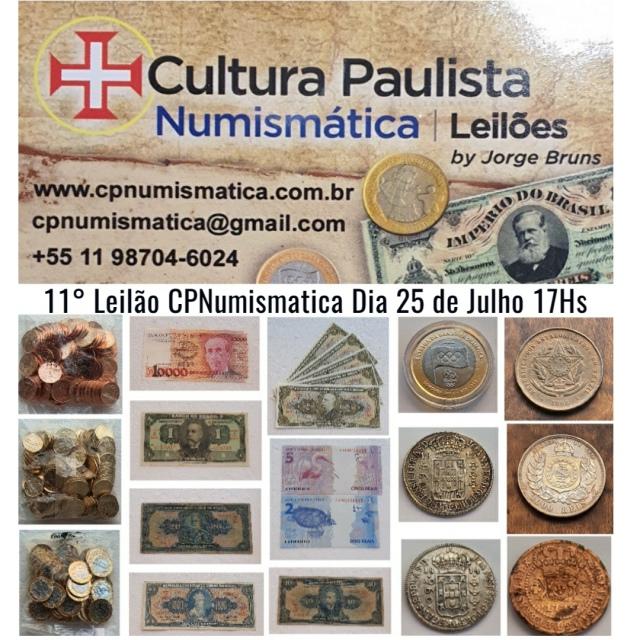11º LEILÃO CULTURA PAULISTA NUMISMÁTICA