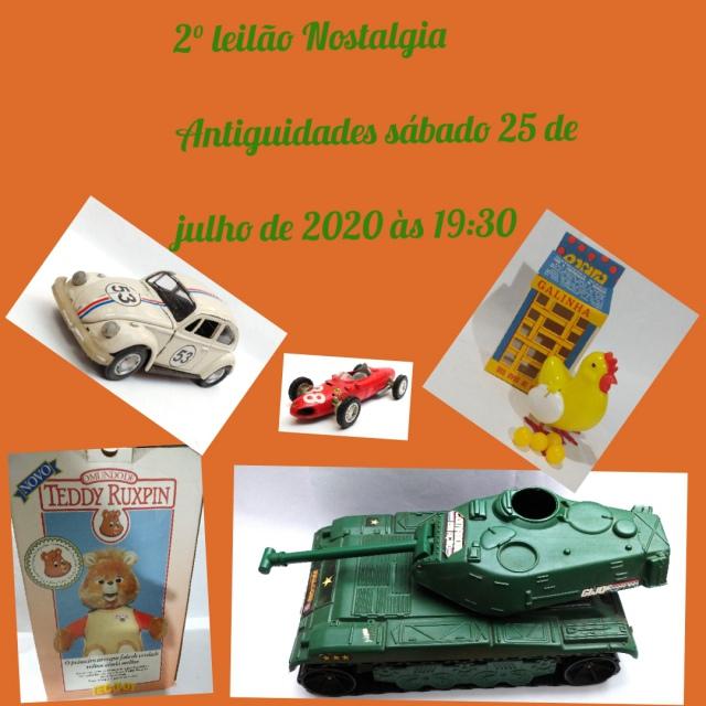 2º Leilão de Brinquedos e Coleções