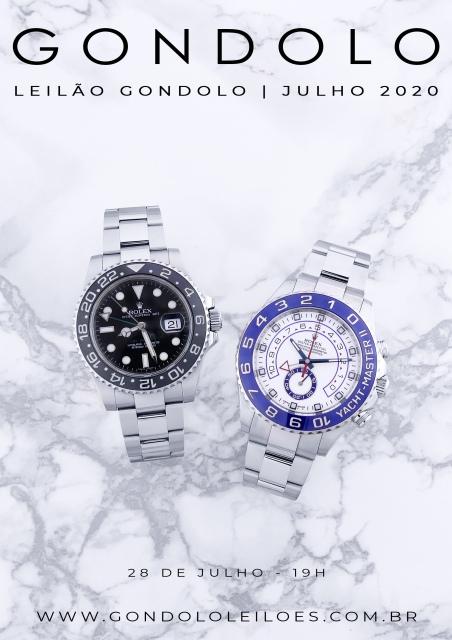 Leilão Gondolo - Relógios - Canetas - Julho 2020