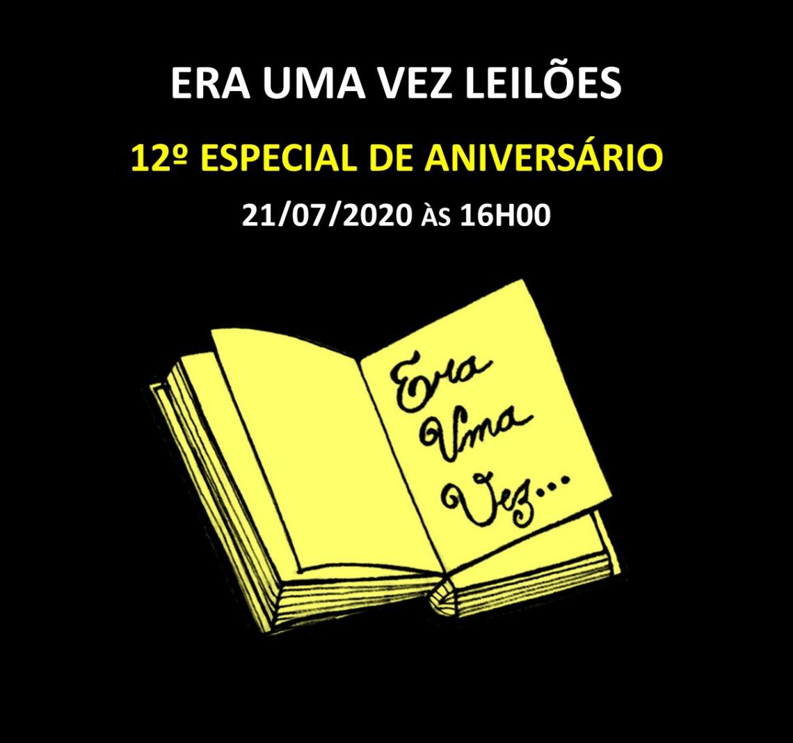 12º LEILÃO COM ESTÓRIAS - 21/07/2020 às 16h00