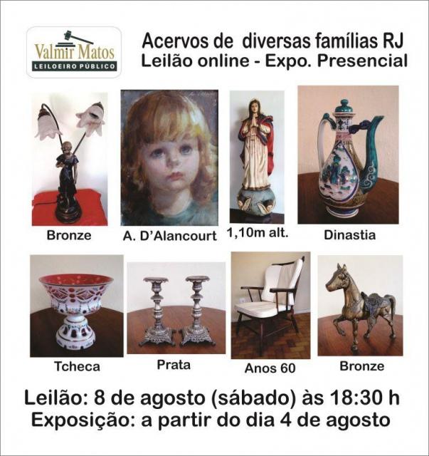 Leilão, Acervo de Famílias Serranas RJ