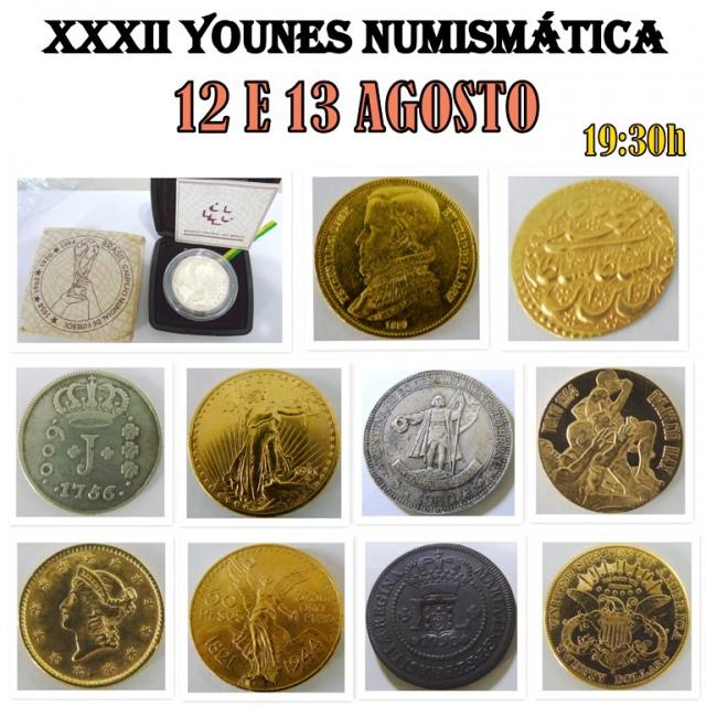 XXXII LEILÃO YOUNES NUMISMÁTICA